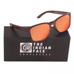 Óculos Free Spirit Style Lentes Laranja | 1 Par de Hastes Extra