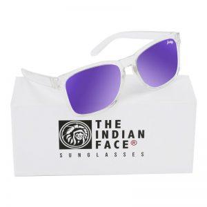 Óculos Crystal Free Spirit Style Lentes Azuis | 1 Par de Hastes Extra