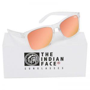 Óculos Crystal Free Spirit Style Lentes Laranja | 1 Par de Hastes Extra