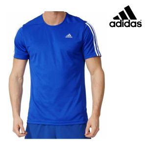 Adidas® T-Shirt Performance Running Blue | Tecnologia Climalite®