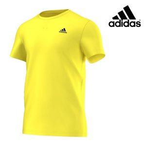 Adidas® T-Shirt Essentials Premium Yellow | Tecnologia Climalite®