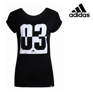 Adidas® T-Shirt Performance 03 Black | Tecnologia Climalite®
