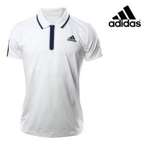Adidas® Polo Barricade White | Tecnologia Climacool®