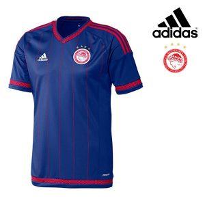 Adidas® Camisola Olympiacos Oficial Azul  | Tecnologia Climacool®