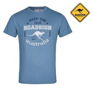 T-Shirt Australian Fashion Blue | Tamanho S