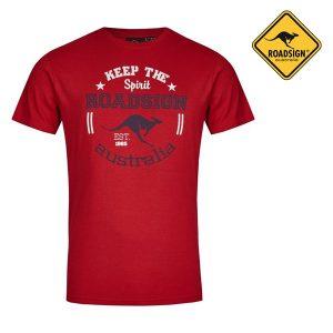 T-Shirt Australian Fashion Red | Tamanho S