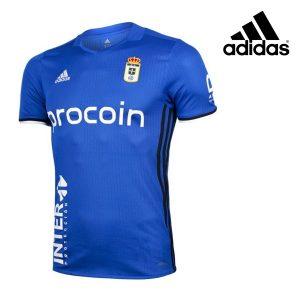Adidas® Camisola Real Oviedo Oficial Blue | Tecnologia Climalite®