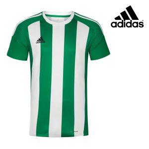 Adidas® T-Shirt de Treino Listas Verde | Tecnologia Climacool®