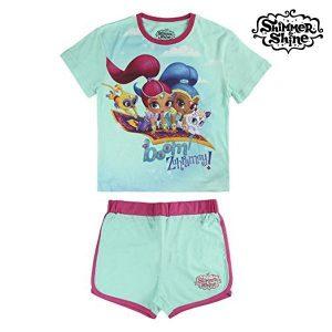 Pijama de Verão Shimmer and Shine 6176 | Produto Licenciado!