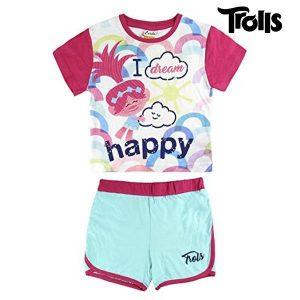 Pijama de Verão Trolls 8286 | Produto Licenciado!
