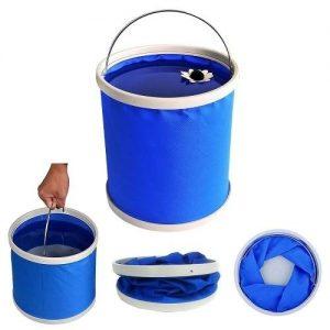 Multifunction Foldable Canvas Bucket 9 | 11 L
