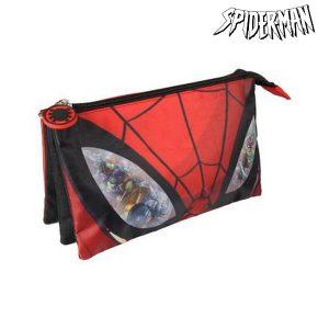 Estojo Escolar Spiderman 8706 | Produto Licenciado!
