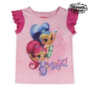 T-shirt Infantil Shimmer and Shine 6527 | Produto Licenciado!