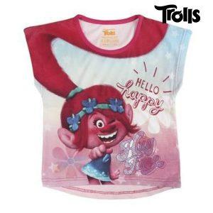 T-Shirt de Criança Trolls 8682 | Produto Licenciado!