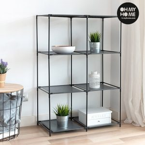 Estante de Metal Oh My Home | 8 Prateleiras