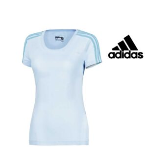 Adidas® T-Shirt Essentials 3S Slim Women's Blue | Tecnologia Climalite®