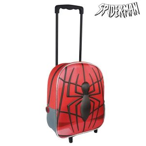 Trolley Escolar 3D Spiderman 8010 | Produto Licenciado!