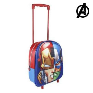 Trolley Escolar 3D The Avengers 8041 | Produto Licenciado!