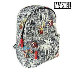 Mochila Escolar Marvel 9410 | Produto Licenciado!