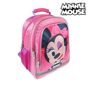 Mochila Escolar Minnie Mouse 9328 | Produto Licenciado