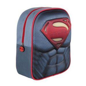 Mochila Infantil 3D Superman 3406 | Produto Licenciado!