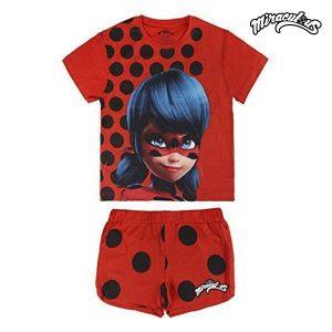 Pijama de Verão Lady Bug 1415 | Produto Licenciado!