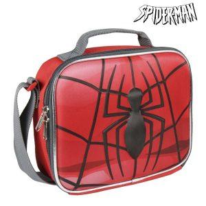 Porta-merendas Térmico 3D Spiderman 8317 | Produto Licenciado!