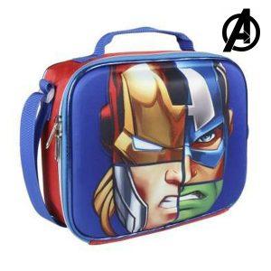 Porta-merendas Térmico 3D The Avengers 8348 | Produto Licenciado!