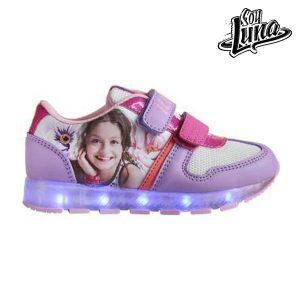 Sapatilhas Desportivas Criança com Luz LED Soy Luna 5715   Produto Licenciado!