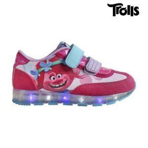 Sapatilhas Desportivas de Criança com Luz LED Trolls 2875   Produto Licenciado!