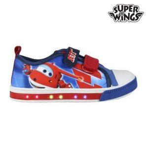 Sapatilhas de Criança com Luz LED Super Wings 150   Produto Licenciado!