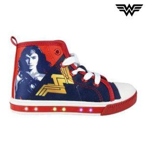Sapatilhas de Criança com Luz LED Wonder Woman 4875   Produto Licenciado!