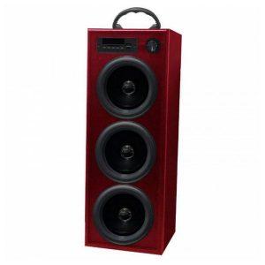 Torre de Som Innova TW/BK5R Radio FM Bluetooth 30W Vermelho