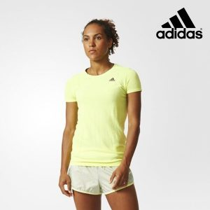 Adidas® T-Shirt Running Amarelo Fluorescente
