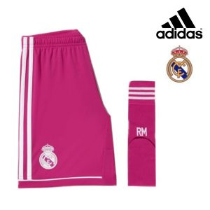 Adidas® Conjunto Real Madrid Oficial Júnior | Tecnologia Climacool®