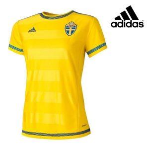 Adidas® T-Shirt Oficial Suécia Women´s | Tecnologia Climacool®