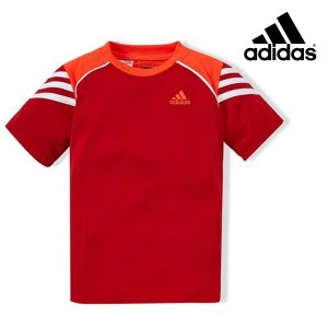 Adidas® T-Shirt Essential Red Junior | Tecnologia Climacool®