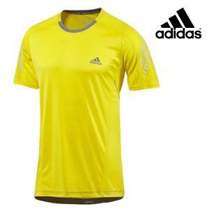 Adidas® T-Shirt Running Vivid Yellow | Tecnologia Climacool®