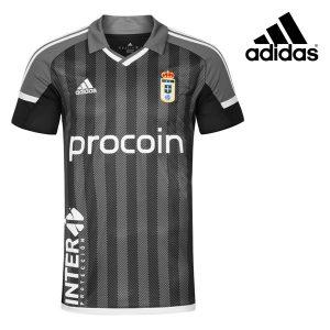 Adidas® Camisola Real Oviedo Oficial Grey  | Tecnologia Climacool®