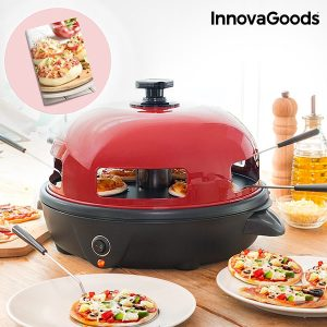 Mini Forno de Pizza com Livro de Receitas Kitchen Chef Presto!
