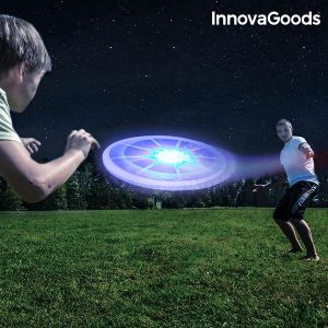 Frisbee Multicolorido LED Gadget Tech