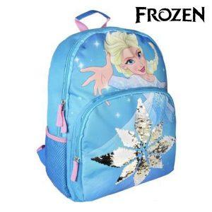 Mochila Escolar Frozen 81957 Azul | Produto Licenciado!