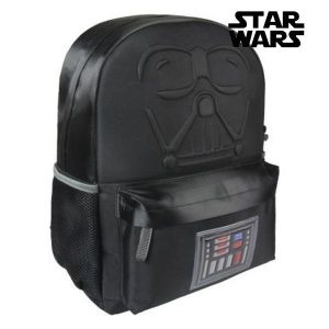 Mochila Escolar Star Wars 81926 Preto | Produto Licenciado!