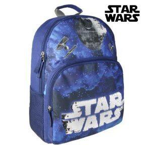 Mochila Escolar Star Wars 81964 Azul Marinho | Produto Licenciado!