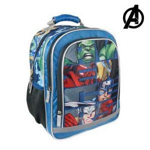 Mochila Escolar The Avengers 9304 | Produto Licenciado!
