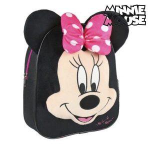 Mochila Infantil Minnie Mouse 94469 Preto | Produto Licenciado!