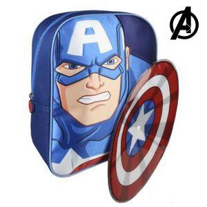 Mochila Infantil The Avengers 89250 Azul | Produto Licenciado!