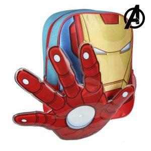 Mochila Infantil The Avengers 89267 Vermelho | Produto Licenciado!