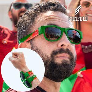 Óculos de Sol Enroláveis Sunfold Mundial Portugal