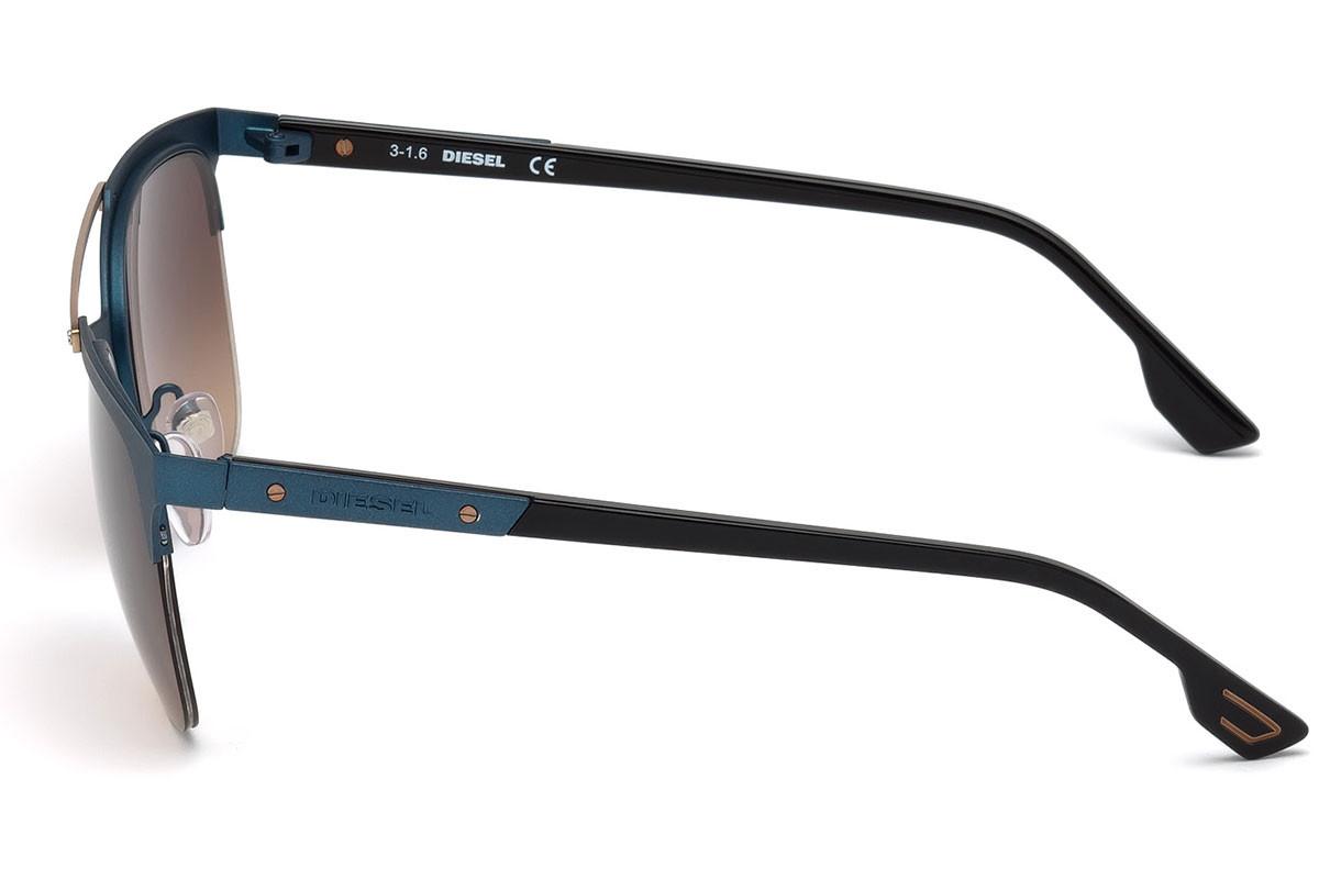 84c03b9392013 Diesel® Óculos de Sol DL0215 5491F - You Like It Diesel DL0067 S - Azul   Prata - 92V Óculos de Sol na eÓtica